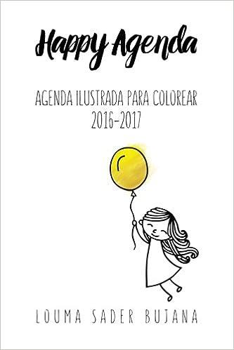 Amazon.com: Happy Agenda 2016-2017: Agenda ilustrada para ...