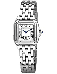 Panthere de Cartier Silver Dial Ladies Stainless Steel Watch WSPN0006