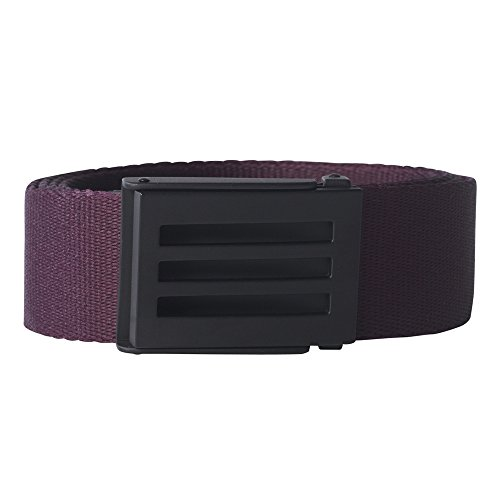 Adidas Webbing Belt - adidas Golf Webbing Belt, Red Night, One Size