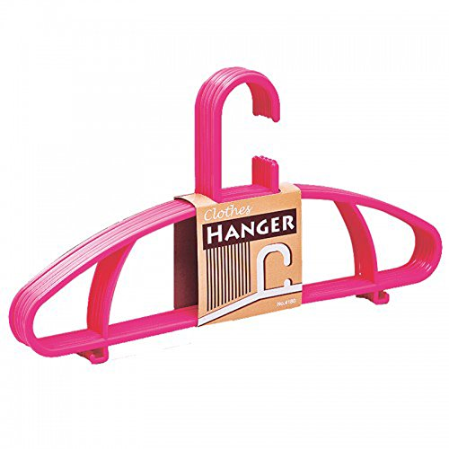 Hanger Pink Color 1 Pack Hang Shirts (Hotel Bell No Slip compare prices)