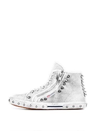 Superga 2225-COTWDSTUDS S0070P0 - Zapatillas de tela para mujer White
