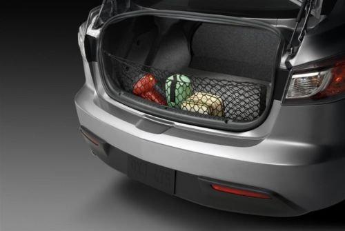 Envelope Style Trunk Cargo Net for Mazda 3 Mazda3 4-Door 2010 2011 2012 2013 NEW (3 Cargo Net Mazda)