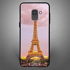 Samsung Galaxy A8 Plus Eiffel Tower Day time