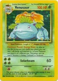 Pokemon - Venusaur (15/102) - Base Set - Holo