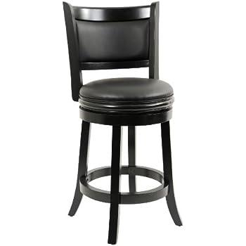 amazon com boraam 45824 augusta counter height swivel stool 24