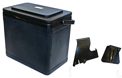 RHOX Insulated Large Capacity 11.75 Quart Cooler for EZGO RXV Passenger Side Mount
