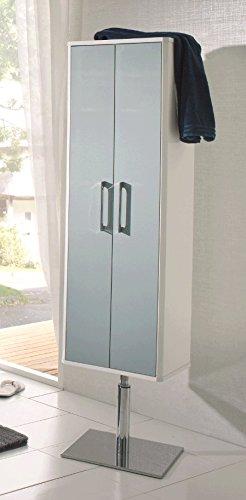 Badschrank 40 cm breit ☆ Drehschrank Badezimmer ☆ Schrank auf ...