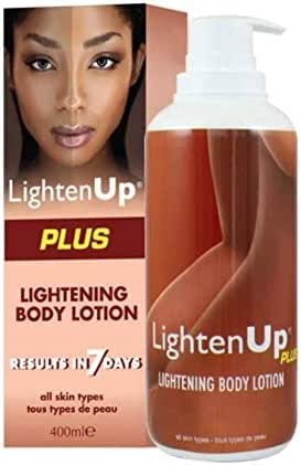 Lighten Up Body Lotion 400ml - Formulated to Remove Dark Spots & Hydrates and Moisturize Skin, with Jamaican Castor Oil