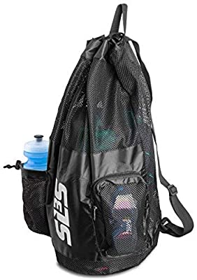 Amazon.com: SLS3 - Bolsa de natación con malla grande para ...