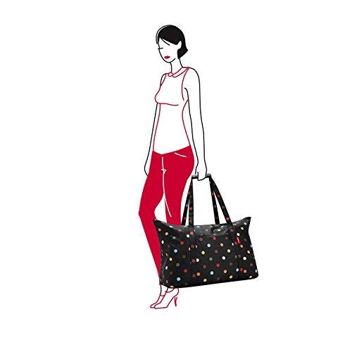 Mocha amp; 65 Reisenthel Maxi Bag Dots Brown Travelbag Multi Canvas Tote Colour 30 diamonds Beach Cm Liters Mini qIpI8w6
