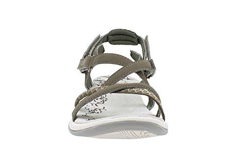 Marron T Ts075 shoes Femme Canarias Sandales z1qTxwX1