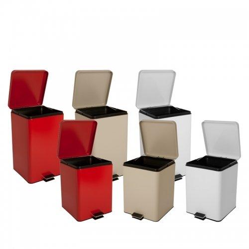 Medical Waste Can, 32qt, Beige