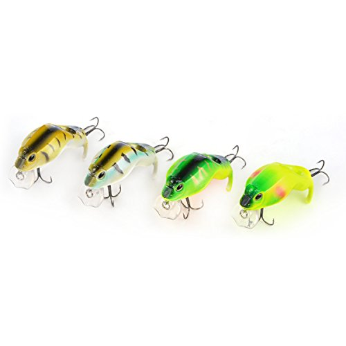 Cabo Diving Hard Plastic Frog Lure Fishing Bait