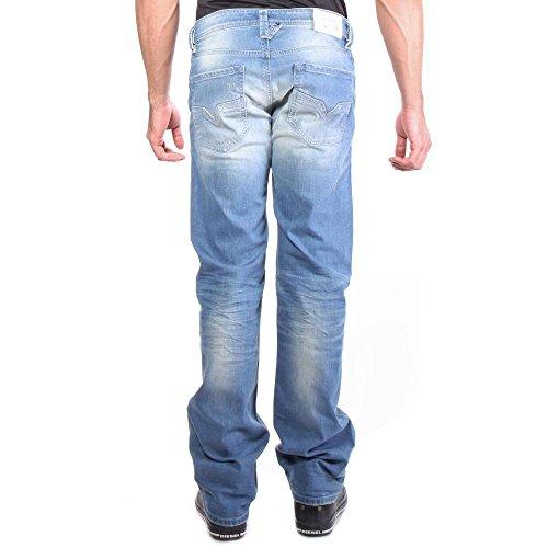 0850U Denim pantalones Larkee los hombres de la vaqueros rectos Wash de Diesel pierna BaPwUTqT