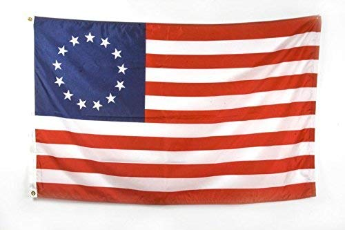 ALBATROS 3 ft x 5 ft American 13 Colonies Betsy Ross Flag House Banner Grommets 150D Poly for Home and Parades, Official Party, All Weather Indoors Outdoors -