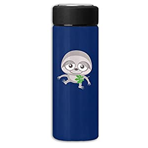 Baby Sloth Frosted Business Vacuum Cup Rustless Steel Cup,Man Carried Water Bottle