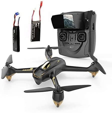 Hubsan H501S X4 BRUSHELESS FPV Quadcopter Drone 1080p Camera GPS Automatic Return Altitude Hold Headless Mode(Black)