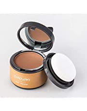 Instantly Hair Shadow Hair Line Powder Quick Cover Hair Root Concealer with Puff Touch Hairline Modification Powder