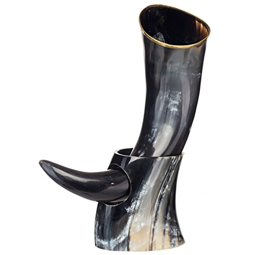 AleHorn Handcrafted Polished Drinking Horn product image