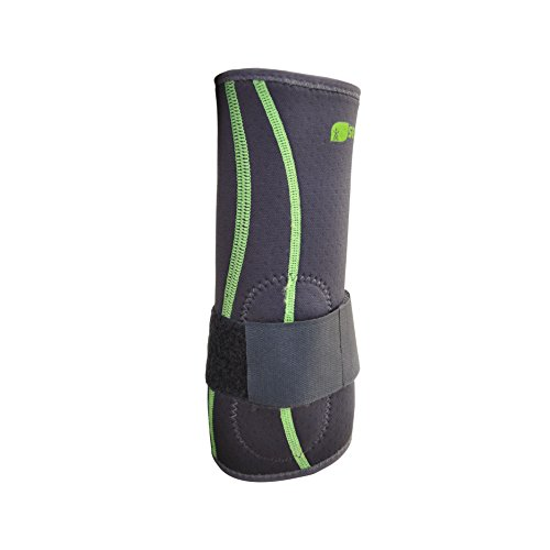 SENTEQ Tennis Golf Elbow Brace Sleeve - Medical Grade & FDA Approved. TPR GEL for Support & Comfort, Decrease Swelling, Inflammation Reduces Pain. Fits Either the Left or Right Forearm (SQ2 N007 S) by SENTEQ (Image #3)