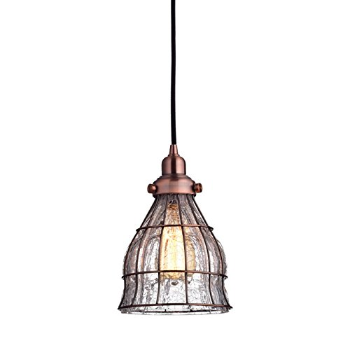 Red Hanging Pendant Light in US - 5