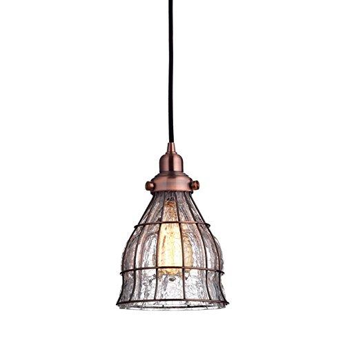 Copper Cage Pendant Light in US - 3