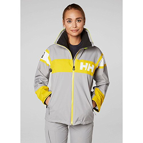 Gris 820 Salt Helly Grey Women's Flag Hansen Jacket qq0nYCR1