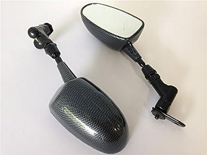 Amazon.com: HK MOTO- Mini Mirrors For Honda Cbr 600Rr ...