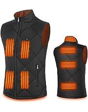 FERNIDA Heated Vest for Men Women 5V/2A USB Electric Heating Vest (Battery Not Inclued)