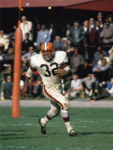 87290028309 Image Unavailable. Image not available for. Color  JIM BROWN CLEVELAND  BROWNS ...