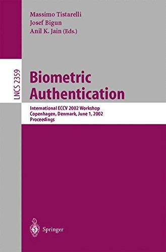 Biometric Authentication: International ECCV 2002 Workshop Copenhagen, Denmark, June 1, 2002 Proceedings (Lecture Notes in Computer Science)