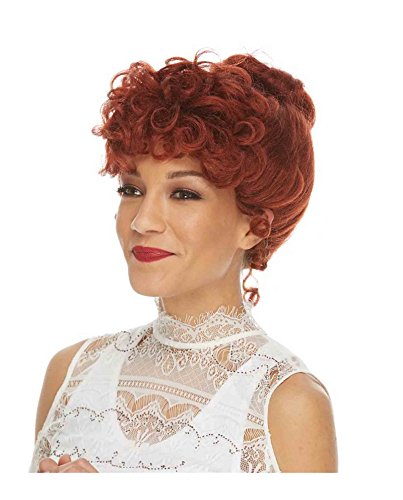 Women's Gibson Girl Costume Wig (Auburn)