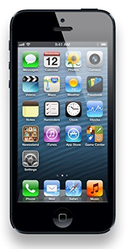 Apple iPhone 5, GSM Unlocked, 32GB - Black (Refurbished)]()