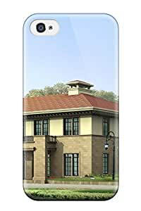 Albert R. McDonough's Shop Fashionable Iphone 4/4s Case Cover For Architecture Houses Protective Case 2180058K38549847