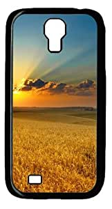 Cool Painting Golden summer field Polycarbonate Hard Case Cover for Samsung Galaxy S4/I9500