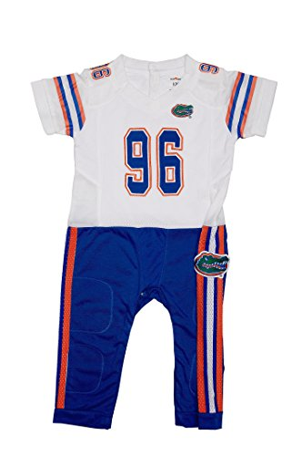 Florida Gators Away Baby NCAA Uniform Romper New (0-3)