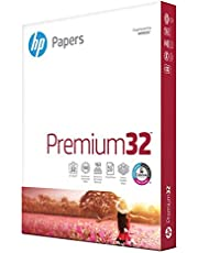 HP Printer Paper 8.5x11 Premium 32 lb 1 Pack 250 Sheets 100 Bright Made in USA FSC Certified Copy Paper HP Compatible 113500R
