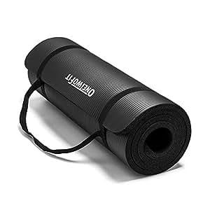 Amazon.com: onetwofit 10 mm. extra grueso nbr esterilla para ...