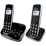 Clarity BT914 Severe Hearing Loss Cordless Phone with BT914HS Expandable Handset