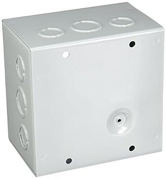Hoffman ase6 X 6 X 4 caja de paso, para tornillos con Knockouts, acero