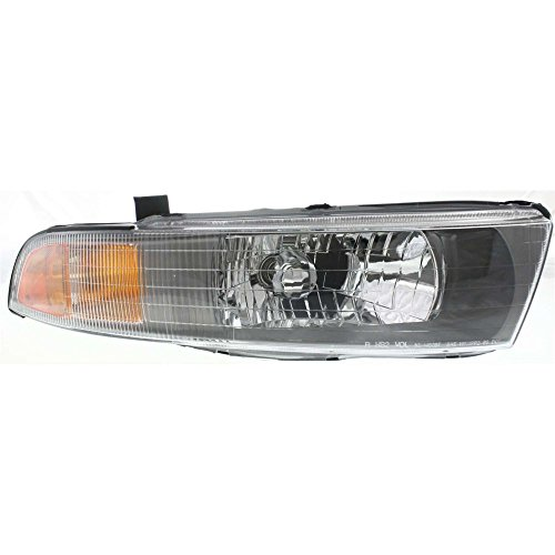 Evan-Fischer EVA13572028745 Headlight for GALANT 02-03 RH Assembly Halogen With Bulb(s) Passenger Side