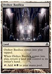 Amazon Com Magic The Gathering Orzhov Basilica Guildpact Toys Games The gathering dual lands that produce white and black mana, updated to commander legends. magic the gathering orzhov basilica guildpact