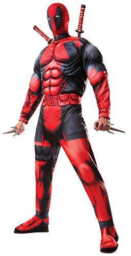 Rubie's Men's Marvel Universe Classic Muscle Chest Deadpool (Best Men Costumes)