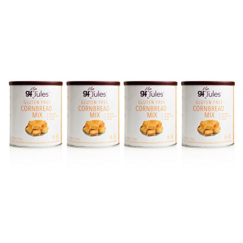 - gfJules Gluten Free Cornbread Mix - Voted #1 by GF Consumers 0.8 lbs, Pack of 4