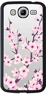 Funda para Samsung Galaxy Mega 5.8 (i9150) - Cerezos En Flor Gris Rosa by Nina Baydur