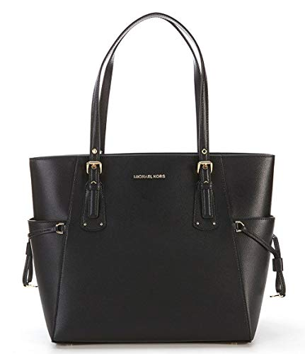 Michael Kors Voyager East/West Tote, Black, One Size (Brillen Von Michael Kors)