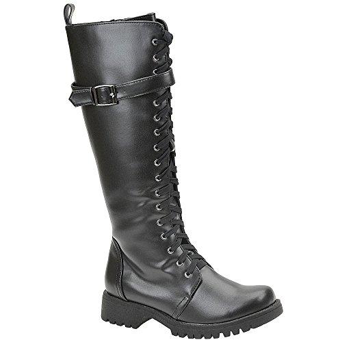 Volatile Women's Boot Camp Combat Boot,Black,6.5 M
