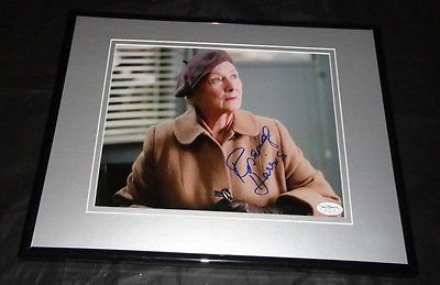 Rosemary Harris Spiderman Aunt May Signed Framed 8x10 Photo JSA