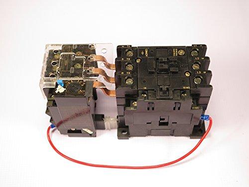 CR4CHH/CR4G3WS GE MAGNETIC MOTOR STARTER OVERLOAD ADJUSTABLE 25-32AMP 24V AC COIL
