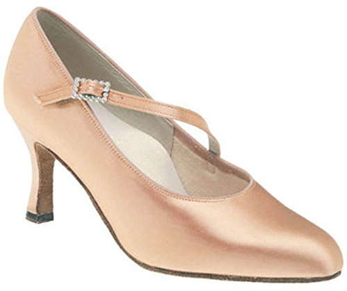 DSI Women's Dance Shoes beige skin 3F3IeUj2w